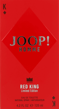 latest design cheapest price release date JOOP!, Homme Red King, woda toaletowa dla mężczyzn, 125 ml ...