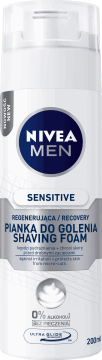 NIVEA MEN, Sensitive Recovery, regenerujący pianka do golenia, 200ml, nr kat. 279404