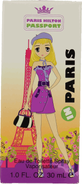 paris hilton passport in paris