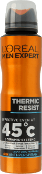 L'Oréal Men Expert, Thermic Resist, antyperspirant w sprayu, 150 ml, nr kat. 280192