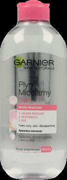 Garnier płyn micelarny skóra wrażliwa