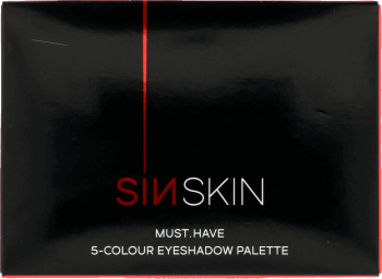 SINSKIN, Must.Have, paleta cieni do powiek, nr 313, 11,5 g, nr kat. 274072