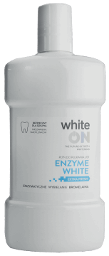 whiteON, Enzyme White, płyn do płukania ust, 500 ml, nr kat. 282052