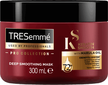 TRESemmé, Keratin Smooth, maska do włosów, 300 ml, nr kat. 282125