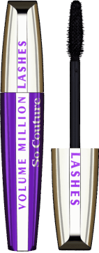 L'Oréal Paris, Volume Million Lashes So Couture, tusz do rzęs, black, 9 ml, nr kat. 195349