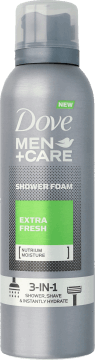 Dove Men+Care, Extra Fresh, pianka do mycia ciała, 200 ml, nr kat. 282176