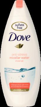 Dove, Micellar Water, żel pod prysznic, Anti-Stress, 250 ml, nr kat. 288292