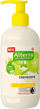 Alterra, mydło w płynie, Biała Herbata & Limonka, 300 ml, nr kat. 291560