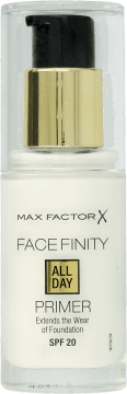 Max Factor, All Day Primer, baza pod podkład, 30ml, nr kat. 201452