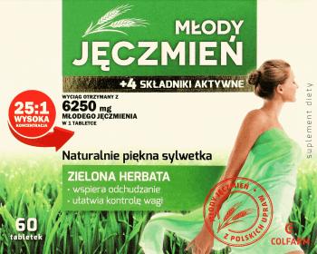 mlody zielony jeczmien w tabletkach opinie