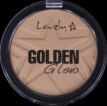 Lovely, Golden Glow, puder, nr 4, 10 g, nr kat. 135669