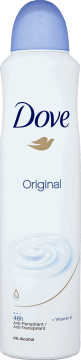 Dove, Go Fresh, antyperspirant w sprayu, Original, 250 ml, nr kat. 153769