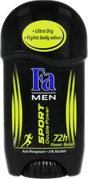 Fa Men,  dezodorant w sztyfcie, Sport, Double Power Boost, 50 ml, nr kat. 155215