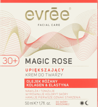 Evree, Magic Rose, krem do twarzy, upiększający, 50ml, nr kat. 218481