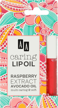 aa olejki do ust caring lip oil