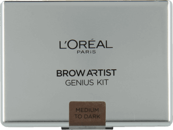 L'Oréal Paris, Brow Artist Genius Kit, paleta do brwi, Medium To Dark, 3,5 g, nr kat. 261777