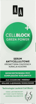 AA, Cell Block Green Power, serum antycellulitowe, 200 ml, nr kat. 263889