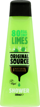 Original Source,  żel pod prysznic, Lime, 500 ml, nr kat. 203170
