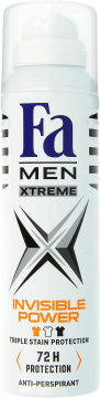 Fa Men, Xtreme, dezodorant w sprayu, 150 ml, nr kat. 171115