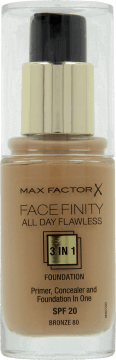 Max Factor, Facefinity All Day Flawless, podkład do twarzy 3 w 1, nr 80, 30 ml, nr kat. 164712